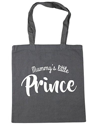 hippowarehouse-mummy-s-little-prince-tote-shopping-gym-beach-bag-42-cm-38-38-10-liter-gr-einheitsgro