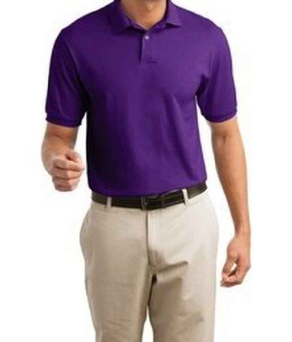 Hanes Herren Comfortblend EcoSmart Jersey Polo Violett - Violett
