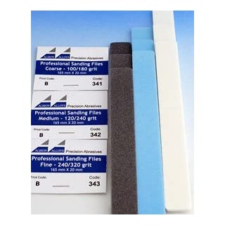 Albion Alloys Professional Sanding Files - Fine # 343