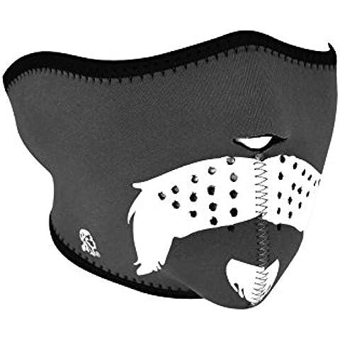 ZANheadgear Máscara de Neopreno para Moto, Quad, Esquí y Snowboard GLOW IN THE DARK WNFM174HG