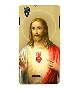 Vizagbeats blessing jesus Back Case Cover for Lava 800