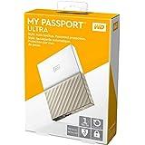 Western Digital My Passport Ultra Disco duro externo  de 1 TB - Blanco / Oro