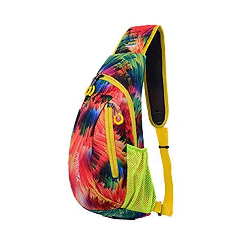 Mode épaule Sac à dos léger,Voyages,randonnée à vélo,randonnée pédestre,Colorful