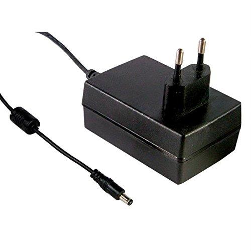 Preisvergleich Produktbild Steckernetzteil 25W 24V 1,04A ; MeanWell GS25E24-P1J ; EU-Plug 5,5/2,1mm