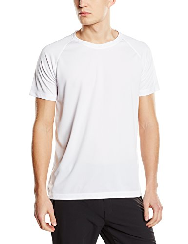 Stedman Apparel Herren T-Shirt Active 140 Raglan/st8410 Weiß
