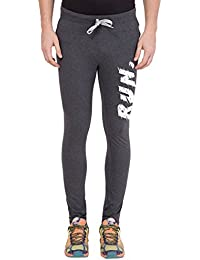 American-Elm Men's Dark Grey Stylish Jogger