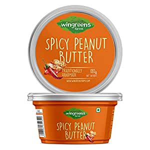 Wingreens Farms Spicy Peanut Butter (180g)