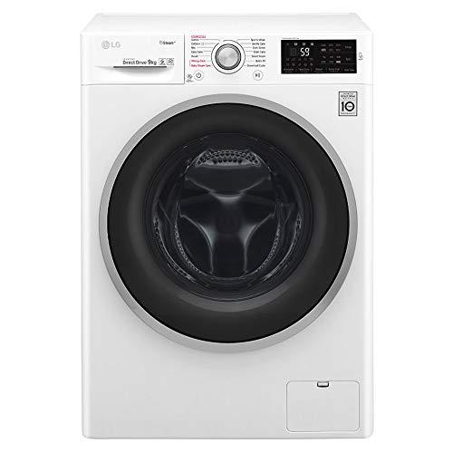 LG F4J609WS  Rated Freestanding Washing Machine - White
