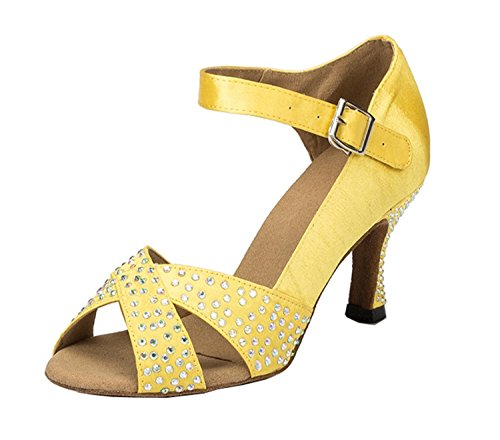 Miyoopark - Ballroom donna Yellow-7.5cm heel
