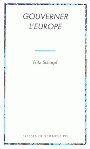 Gourverner l'Europe par Scharpf