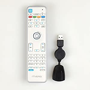 Toutes les Smart Télécommande universelle Humlin Souris à, cliquez pour Smart TV, PC, iMac, LG, Samsung, Android, tablettes et PC