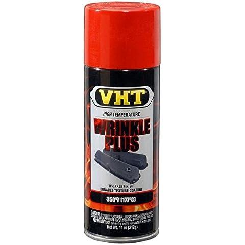 Vernice Smalto Spray VHT Rugosa Rossa x Motore Cilindri Carter Alte Temperature
