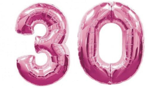 Giant Pink 3 0 Balloons For 30th Birthday Party
