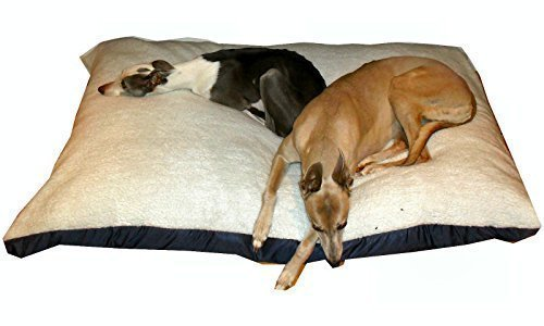 KosiPet® White Sherpa Fleece Extra Large Economy, Budget,Cushion Dog Bed,Dog Beds,Pet Bed,Dogbed,Dogbeds,Petbed,Petbeds,