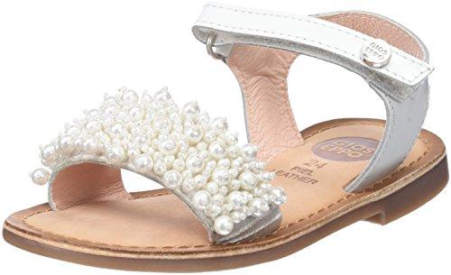 Gioseppo 43892, sandali punta aperta bambina, bianco (white), 31 eu