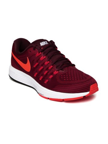 Nike Men Maroon Air Zoom Vomero Running Shoes (7 UK)  available at amazon for Rs.9096