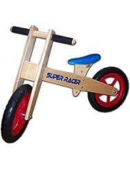 : Holz Laufrad Roady Blue von Dunjo®, höhenverstellbar, 65163