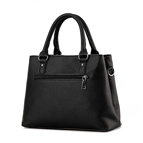 Flada, Borsa tote donna grigio Grey medium Black