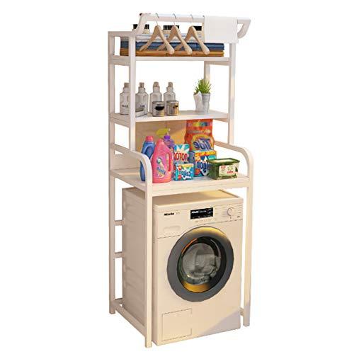 Badezimmer-Raumwunder üBer Dem Toiletten-Speicher-Gestell-Regal-Waschmaschine-Stehenden Organisator 3-Tier, 189 * 70 * 60cm