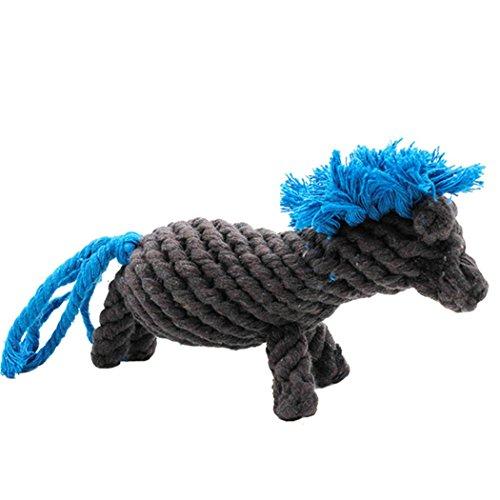 Kostüm Hunde Pony - Legendog Hund Seil Spielzeug Pony Gestalten Beißen Beständig Baumwolle Hund Kauen Spielzeuge Zähne Reinigung Spielzeuge zum Haustiere