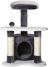 Kratzbaum, Kletterbaum für Katzen (Höhe 65 cm), Farbe wählbar