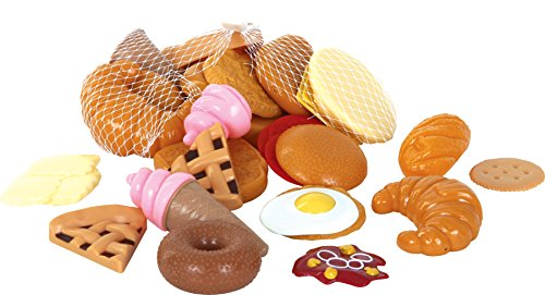 Gowi Toys Sweet and Savoury Play Food - 33 Play Pieces
