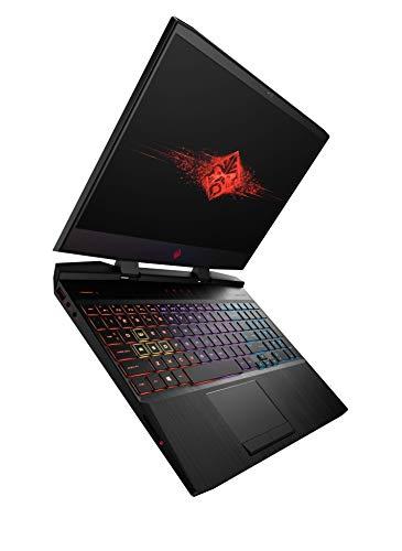 HP Omen Core i7 9th Gen 15.6-inch FHD Gaming Laptop (8GB/1TB HDD + 256GB SSD/Windows 10/NVIDIA GTX 1650 4GB Graphics/Shadow Black), 15-dc1093TX Image 9