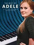 The Best of Adele -- Songbook Piano/Vocal/Guitar -- die besten 12 Hit Songs von Adele leicht arrangiert für Klavier, Gesang und Gitarre inklusive Rolling In The Deep und Someone Like You -- Noten/sheet music