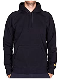 Carhartt WIP Hooded Chase Sweat Dark Navy Gold