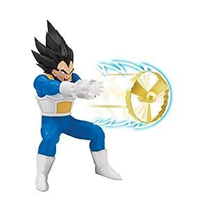Giochi Preziosi-Dragon Ball Super Figura de 18cm Deluxe con función, Goku Super Sayan Vegeta