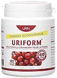 URIFORM Eco Pilulier de 120 Comprimés Extrait de Fruit Canneberge pour Femme
