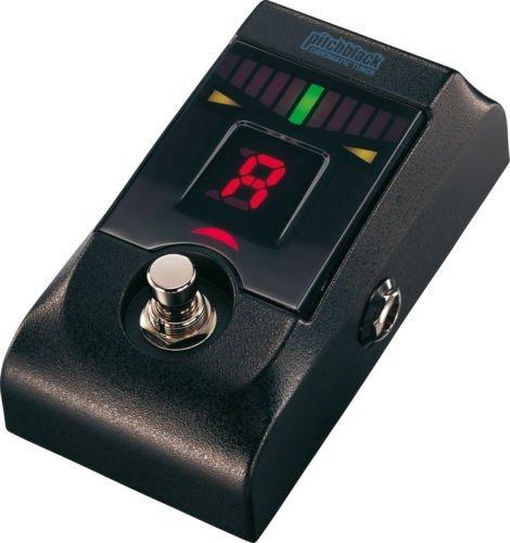 Korg PB-01Pitchblack Tuner Afinador de pedal Negro para Guitarra o Bajo