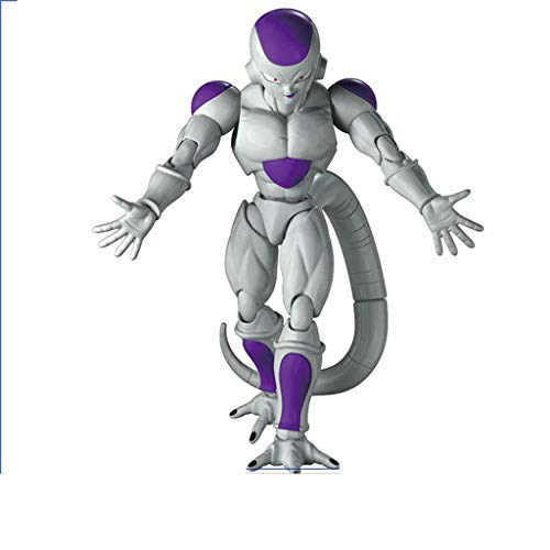 XINKONG Juguete Estatua Dragon Ball Juguete Saiyan Estatua Rey Malvado Fliesa Anime Periferia 18CM