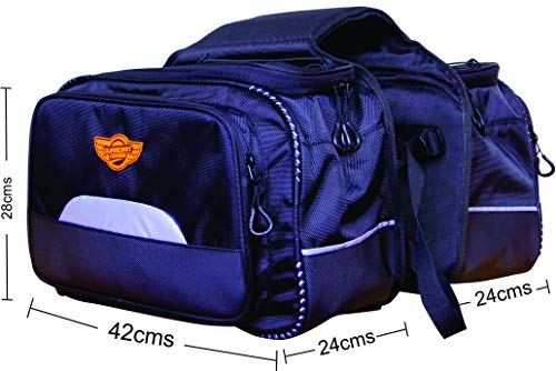 Guardian Gears Mustang 50L Saddle Bag with Rain Cover