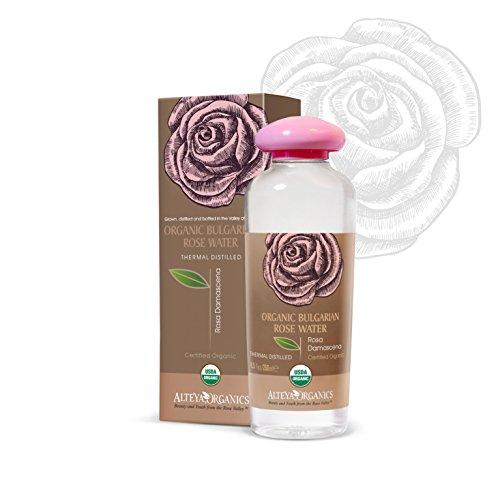 Alteya Bio Rosenwasser 250ml – 100% USDA Organic-zertifiziert GROSSE PACKUNG Rein Natürlich -...