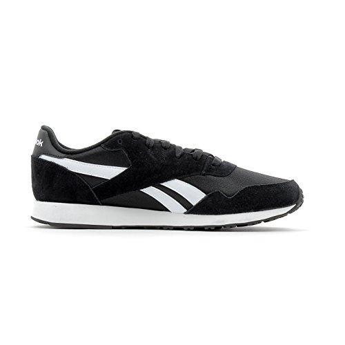 Reebok Bs7966, Chaussures de sport homme Noir (Black / White)
