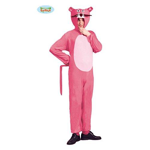 Panther Kostüm für Erwachsene pink Gr. M/L, (Panther Pink Kostüme)