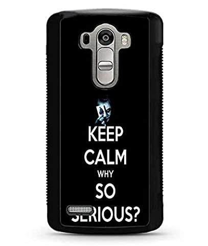 LG G4 Coque Case - Hard Plastic Joker Smile Why So Serious Coque Case Dust Proof Vintage Pattern Back Coque Case For LG G4