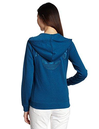 adidas Originals Femme Hoody Sweat à Capuche, Bleu Blues