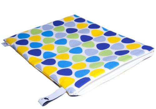 Preisvergleich Produktbild Mon Petit Bleu 5901323929823 Multi Use Bag - Multi-Funktions-Tasche - vielfach nutzbar, waschbar, wasserdicht und sogar lebensmittelecht - Muster Steine, Größe L