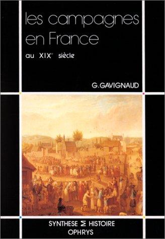 Les campagnes en France au XIXe siècle, 1780-1914