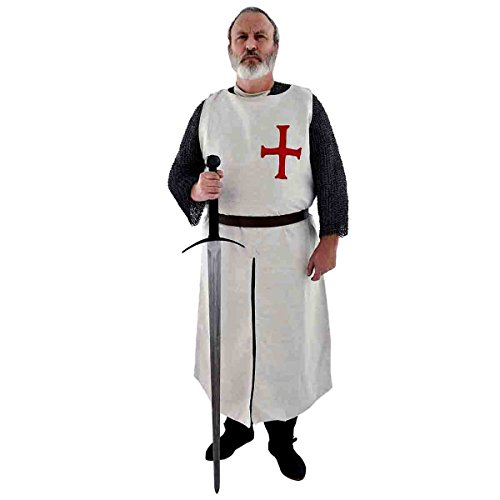 ock/Mittelalter Waffenrock/aus handgewebten, schweren Leinen/Templer Orden/Get Dressed for Battle ()