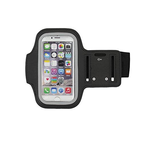 Apple iPhone 6S / 6 Armband Tasche Jogging Lauf Sport Fitness Schwarz von cTRON21