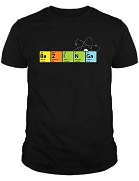 Camiseta de NIÑOS The Big Bang Theory Sheldon Cooper Penny Bazinga