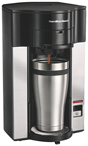 Hamilton Beach 49993-IN 600-Watt Single serve Coffee maker