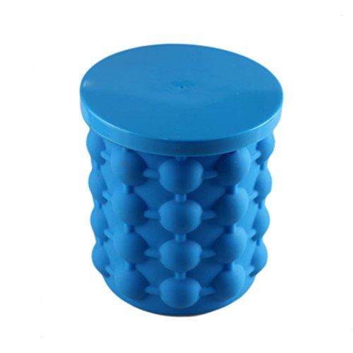 Masterein Revolutionary Platzsparend Eiswürfel Bucket Eiswürfelbereiter Genie Kunststoff-Maschine Küche Barrel Werkzeuge DIY