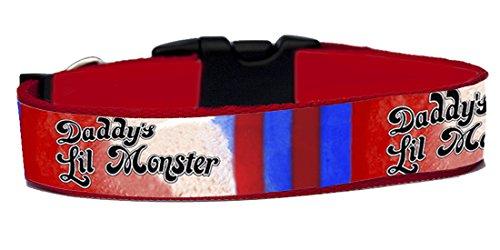 Harley Quinn Collar Perro Hecho A Mano Talla M Handmade Dog Collar