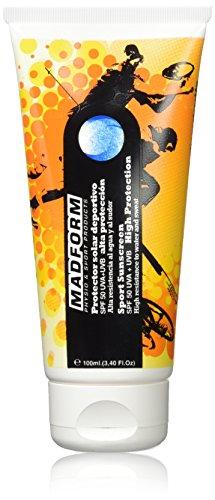 Madform Protector Solar Deportivo SPF 50 Crema solar con protección a los rayos UVA+UVB - 100 ml
