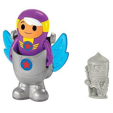 Fisher-Price – GO Jetters – Xuli & Géo-Dive – Figurine et Accessoires Géo Jet