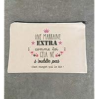 Pochette personnalisable Pour Marraine, Mamie, Tata